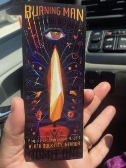 Burning Man 2017 - Radical Ritual - ticket