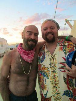 Mark and Josh at sunset at SSV