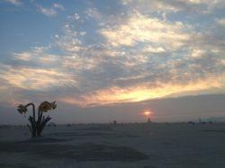 Playa at sunrise