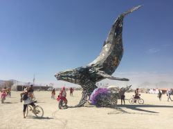 The Space Whale at Center Camp